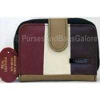 Lorenz Multi-Coloured Real Leather Coin / Note Purse