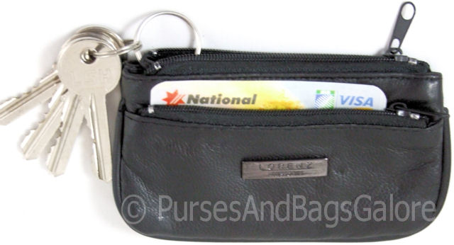 Lorenz Nappa Leather Coin and Key Purse
