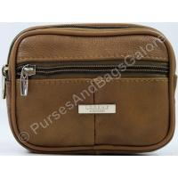 Lorenz Belt Pouch Light Brown Real Leather