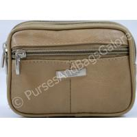 Lorenz Belt Pouch Dark Beige Real Leather
