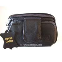 Travel Bag / Wrist Bag with Phone Pouch Black