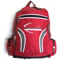 Rucksack Red Grey & White Borderline New 17.33 Litres